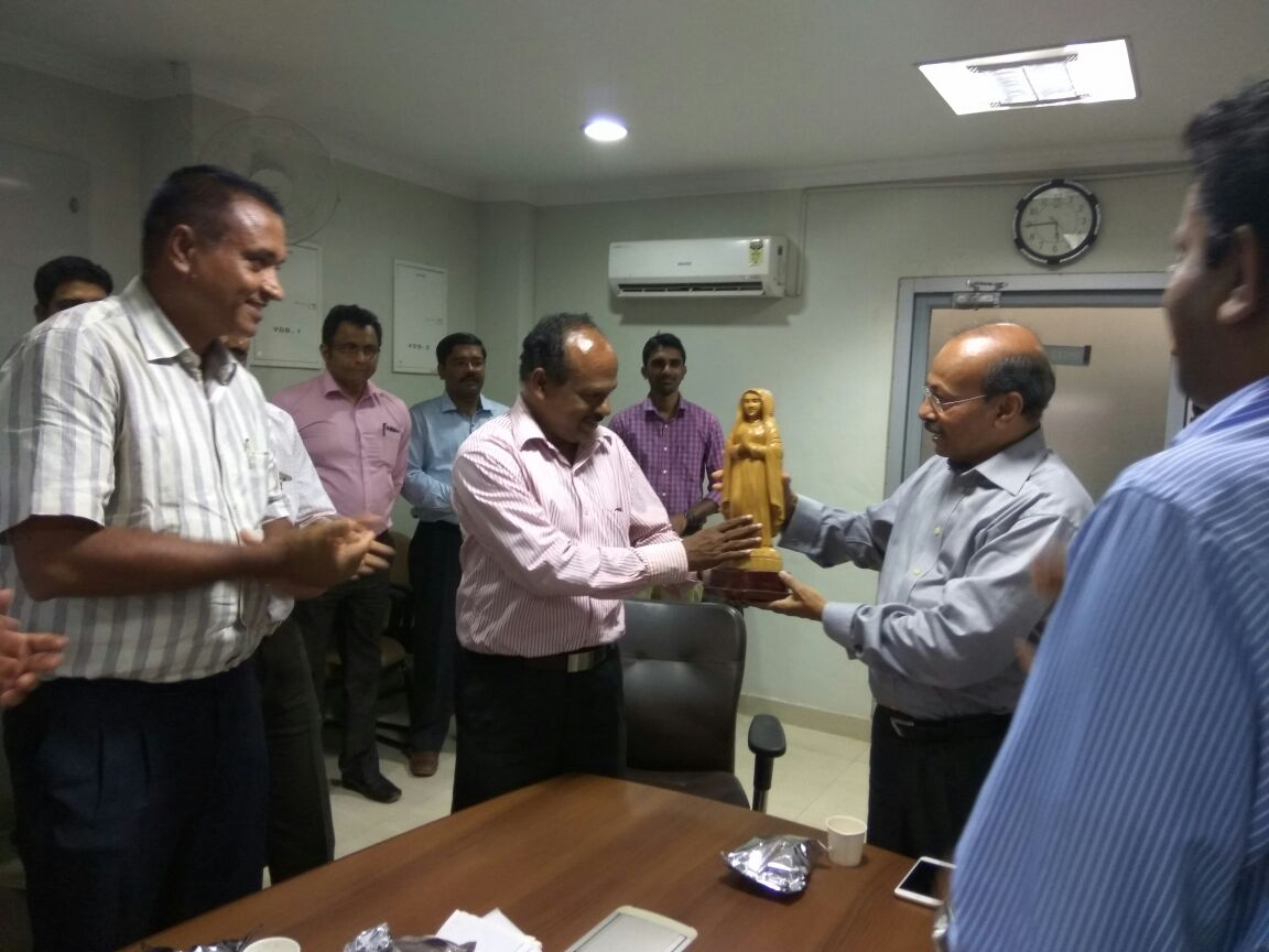 Farewell Function Organized by KIAL for The Chief Project Engineer