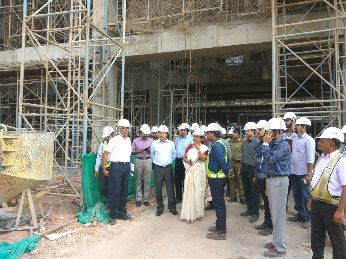 Site Visit by Hon'ble Health Minister as on 26.11.2016
