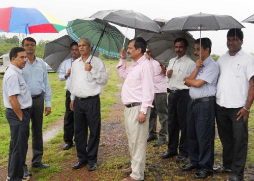 AAI team visits Kannur Airport Project site