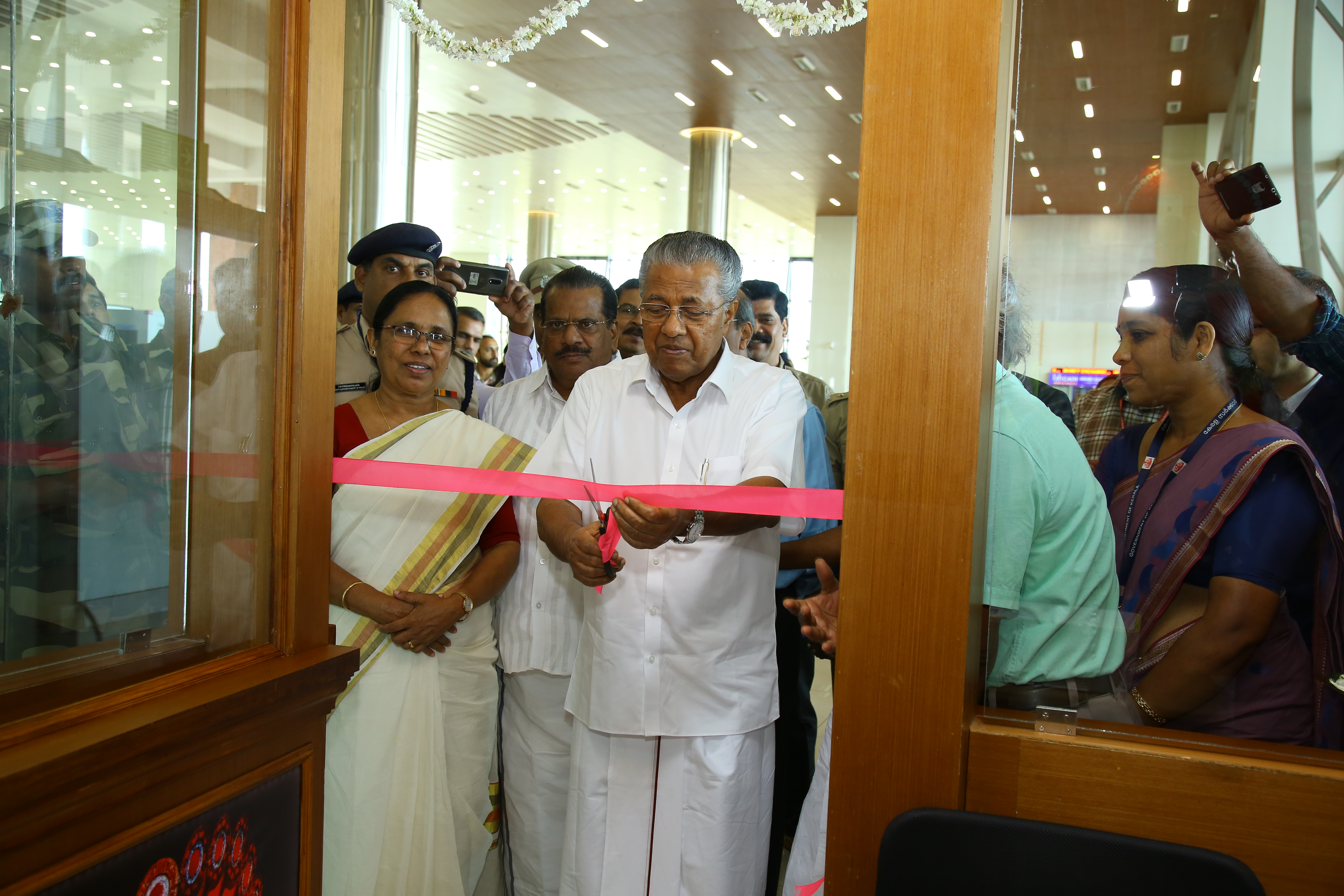 Inauguration of Tourist Information Counter