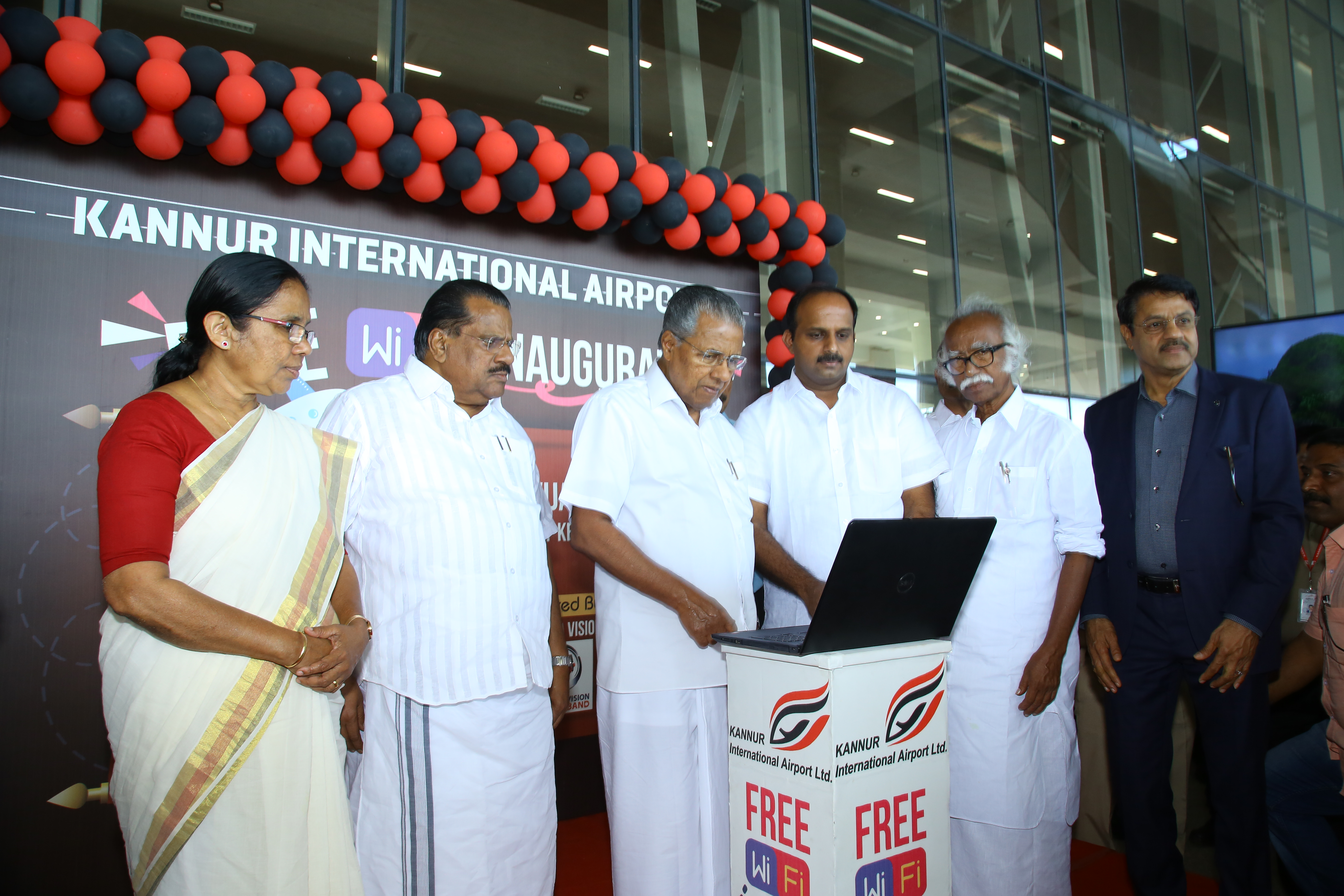 Inauguration of WiFi Services