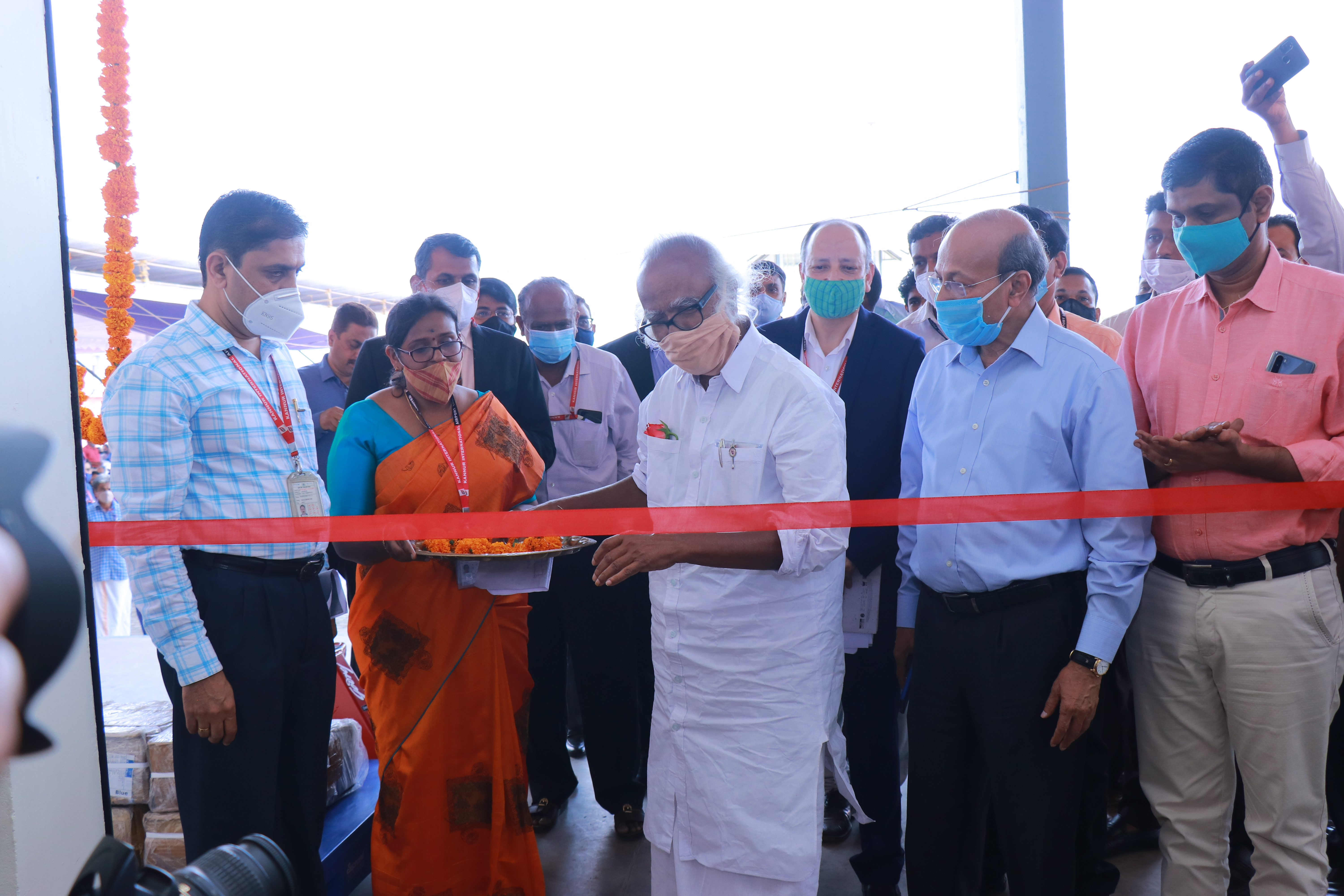 Inauguration of Air Cargo Complex at Kannur International Airport