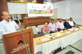 Kannur International Airport MD Shri. V.Thulasidas addressing the Stake Holders Meet